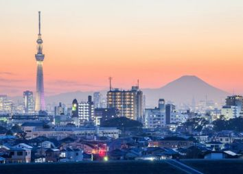 Tour di Tokyo - skyline
