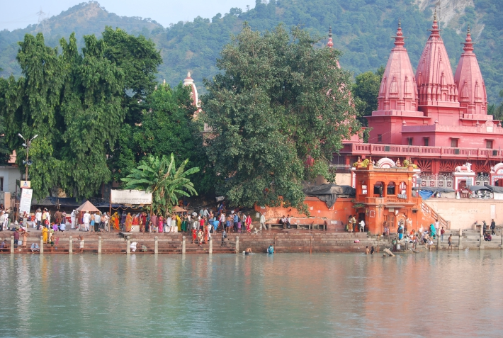 Viaggio spirituale in India Haridwar