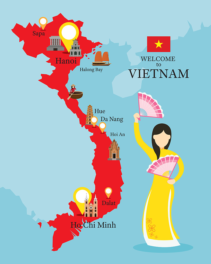 Tour in Vietnam
